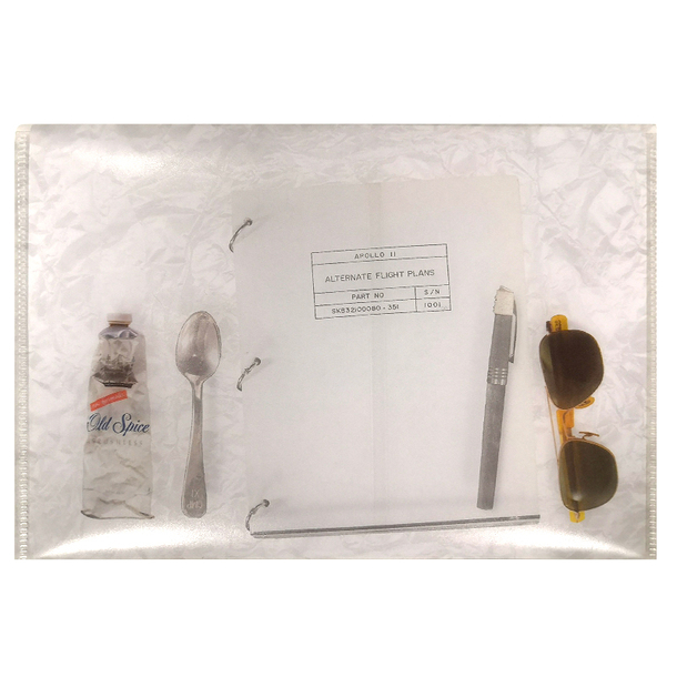Apollo 11 Documents holder with snap button - A5
