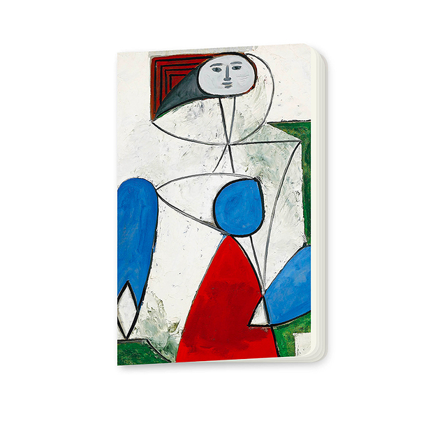 Woman in a armchair Picasso Small notebook