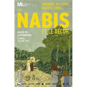 Affiche de l'exposition Les Nabis et le décor