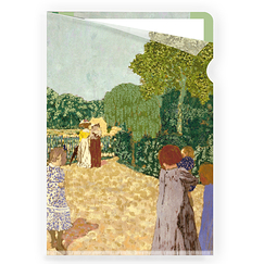 Vuillard The Promenade Clear Folder - A4