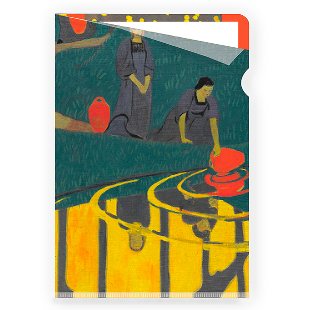 Sérusier Women at the source Clear File - A4