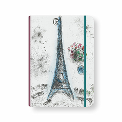 Chagall Elastic notebook