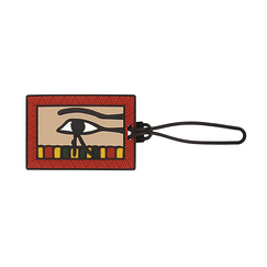 Luggage label - Eye