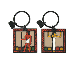 Keyring - God and Goddess