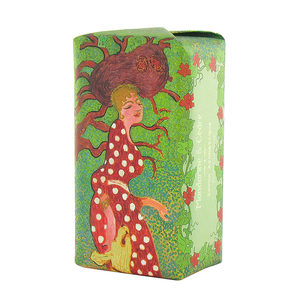 Bonnard Scented Soap - Tangerine & cedarwood