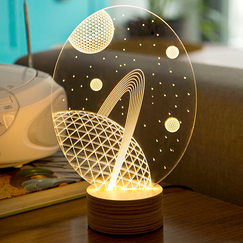 Bulbing Galaxy lamp