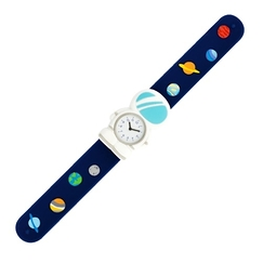 Montre slap cosmonaute
