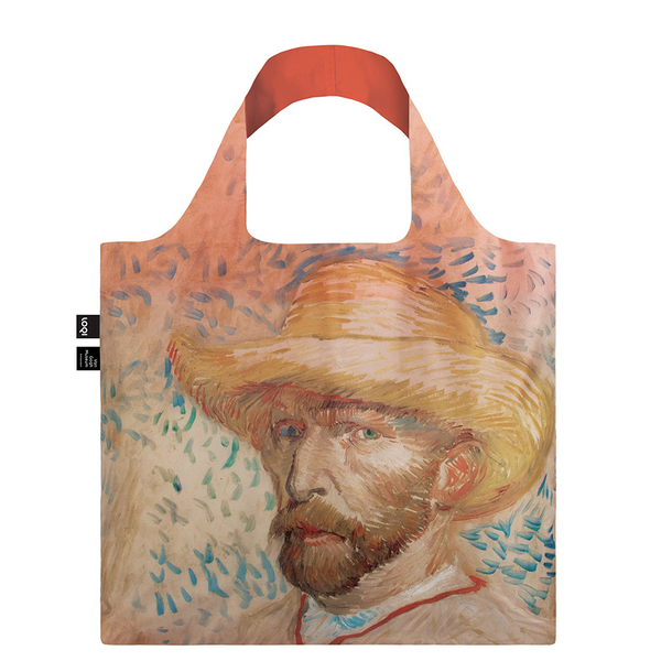 Van Gogh Bag Self-portrait with straw hat - Loqi