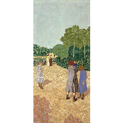 Poster Vuillard The Walk