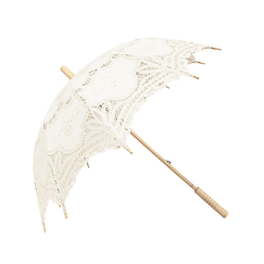 Lace Umbrella - Ecru