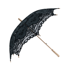 Lace Umbrella - Black