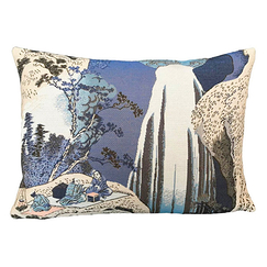 Cushion cover Hokusai Amida Waterfall