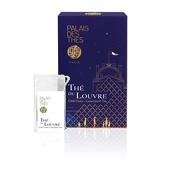Tea of the Louvre Courtyard Tea - Box of 20 muslins teabags - Palais des thés