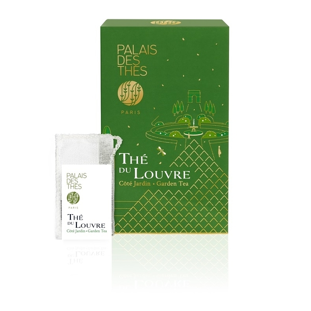 Tea of the Louvre Garden Tea- Box of 20 muslins teabags - Palais des thés