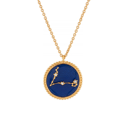 Pisces Astrological sign Necklace Pendant