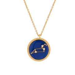 Lion Astrological sign Necklace Pendant