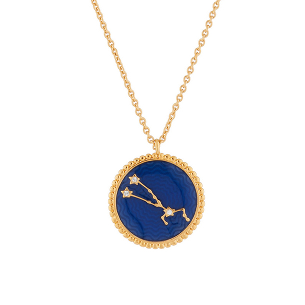 Taurus Astrological sign Necklace Pendant