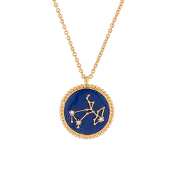 Sagittarius Astrological sign Necklace Pendant