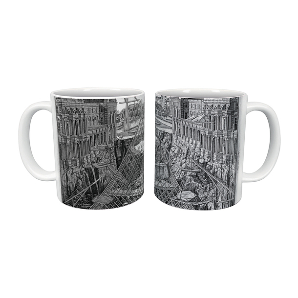 JR Mug - The secret of the great Pyramid