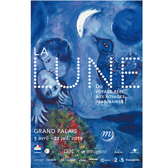 Exhibition Poster La lune