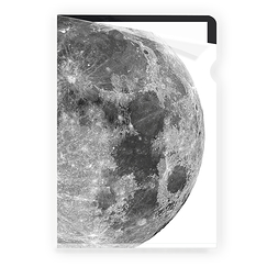 Moon Clear file - A4
