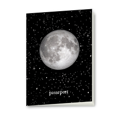 Passport to the Moon Notebook