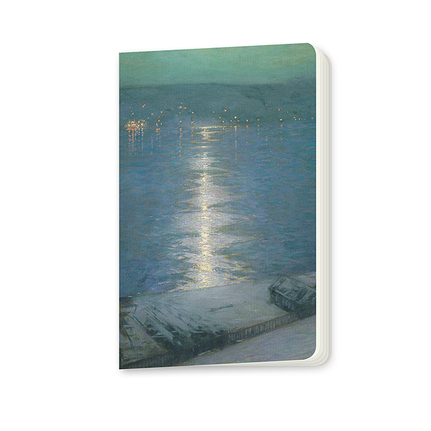 Moonlight on the river Harrison Small notebook