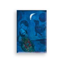 Magnet Chagall Blue landscape