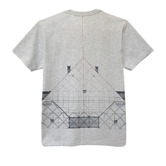 T-shirt JR Pyramide du Louvre - Homecore