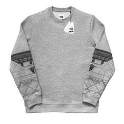 JR Louvre Pyramid sweatshirt - Homecore