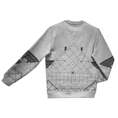 Sweat JR Pyramide du Louvre - Homecore