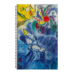Chagall Spiral notebook The Human Creation