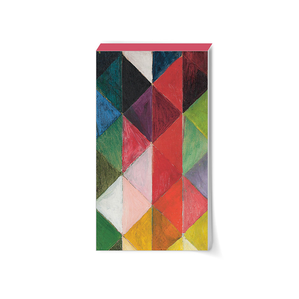 Bloc notes Macke Carreaux de couleur