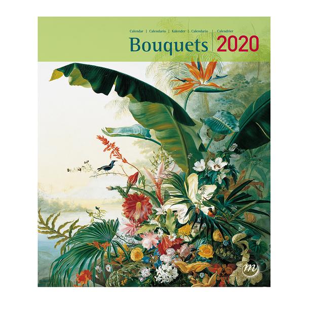 Poster Calendario 2020.Small Calendar Bouquets 2020