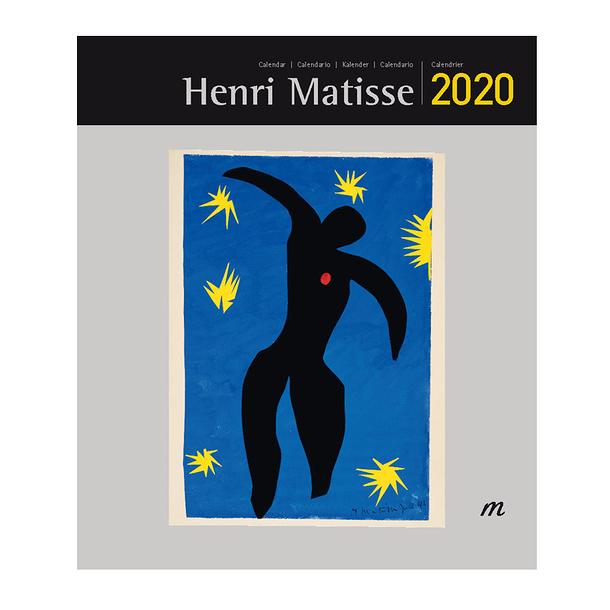 Poster Calendario 2020.Small Calendar Henri Matisse 2020