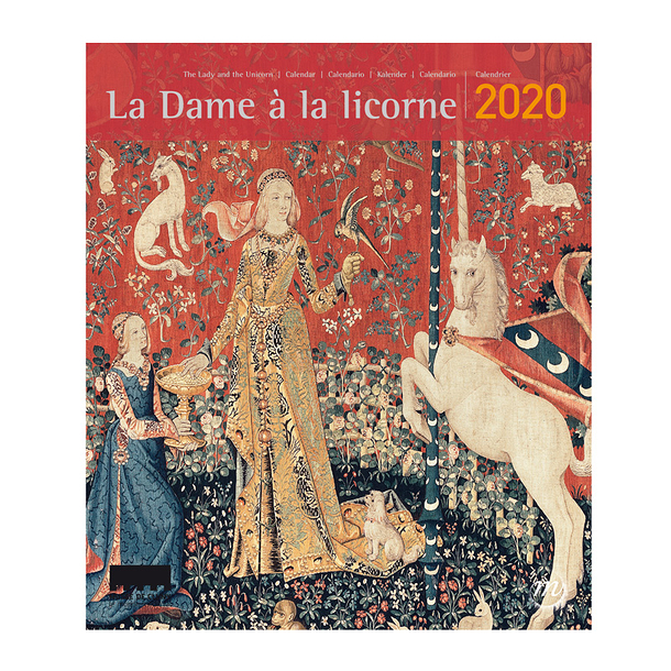 Small Calendar The Lady and the unicorn 2020
