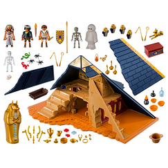 Pyramid of the Pharaoh - Playmobil History