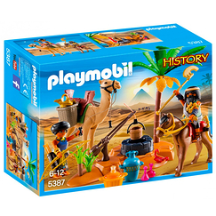 Egyptian looters with treasure - Playmobil History