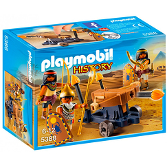 Pharaoh's soldiers with a ballista - Playmobil History