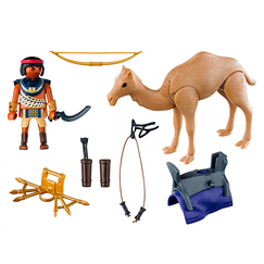 Egyptian fighter with camel - Playmobil History
