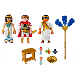 Caesar and Cleopatra - Playmobil History