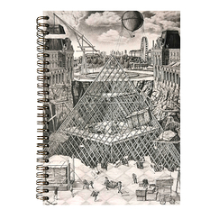 Spiral notebook The secret of the great Pyramid