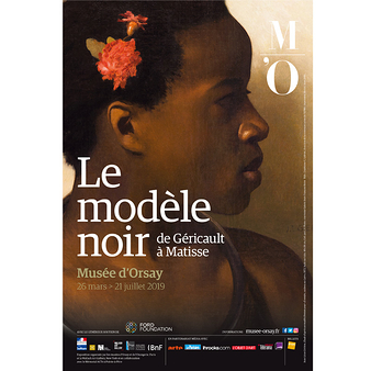 Exhibition poster Black models from Géricault to Matisse
