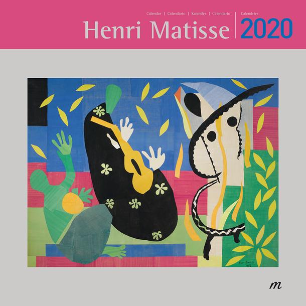 Poster Calendario 2020.Large Calendar Henri Matisse 2020