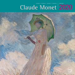 Large Calendar Claude Monet 2020