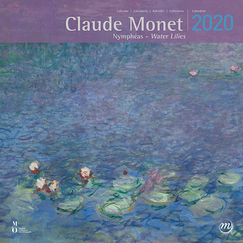 Calendrier 2020 Claude Monet Nymphéas - Grand format