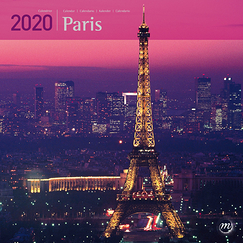 Large Calendar Paris 2020