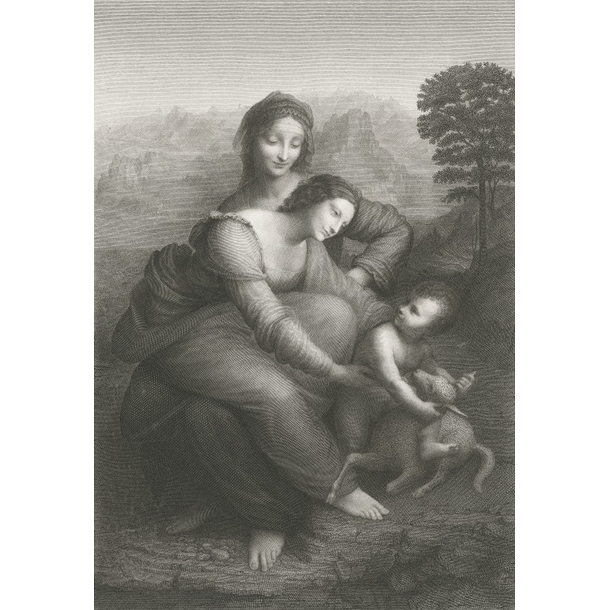 The Virgin and Child with St. Anne - Leonardo da Vinci