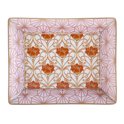 Abfab rose Coin Tray - Bernardaud