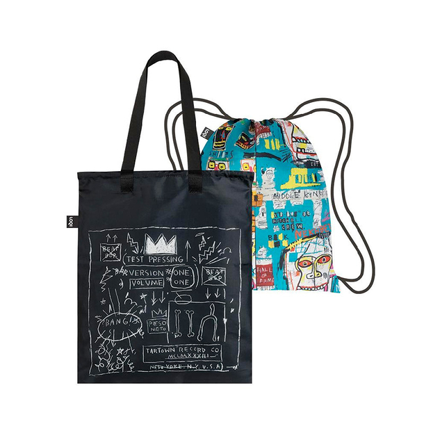 Basquiat Crown & Skull Duo Backpack
